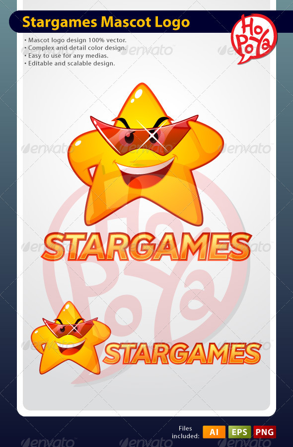 Stargames Mascot Logo - Objects Logo Templates