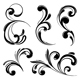 Funky Scrolls Elements - GraphicRiver Item for Sale