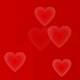 Stylish valentines hearts XML background