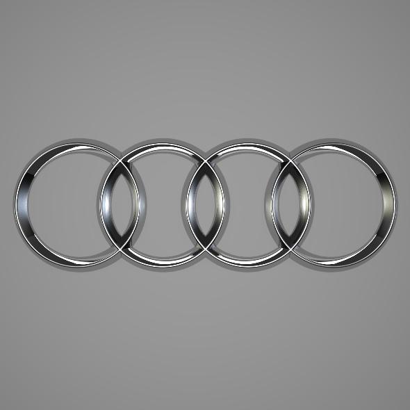 3DOcean Audi Logo 246383
