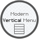 Modern Vertical Menu