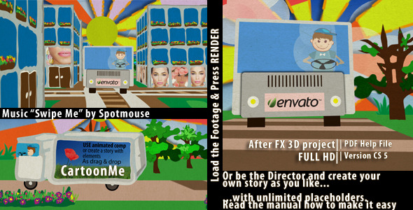 VideoHive Cartoon me Viral Template 2174585