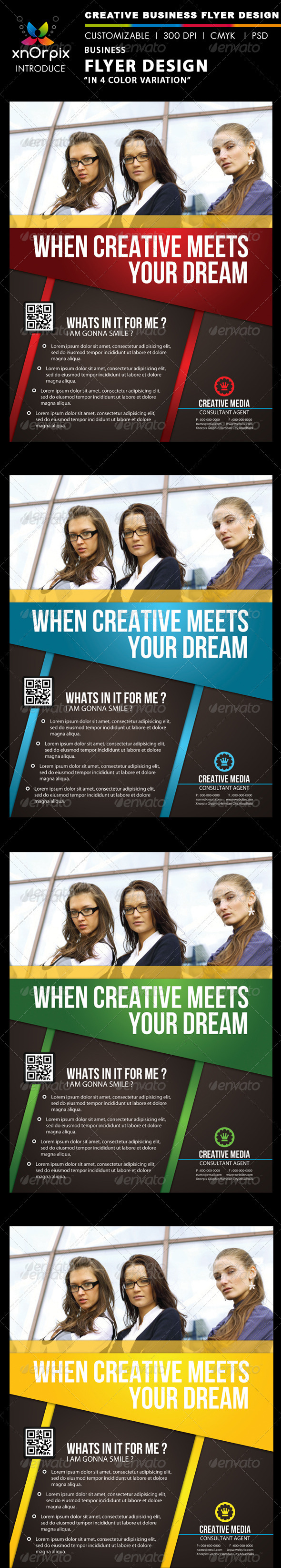 GraphicRiver Business Flyer 2177118
