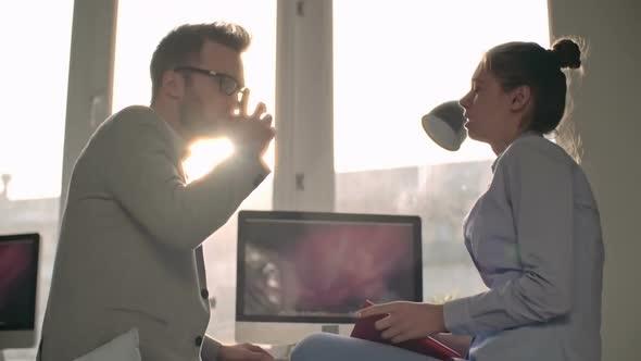 Business Talk Sunlight - Business, Corporate Arkistofilmit