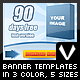 Web Banner Templates - GraphicRiver Item for Sale