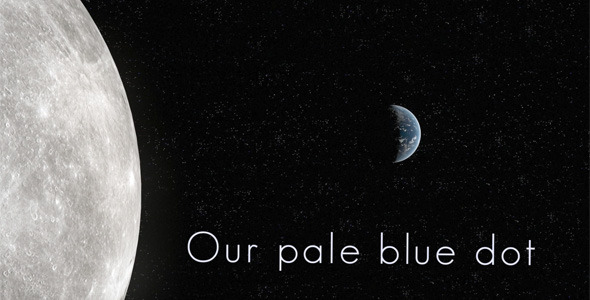 After Effects Project - VideoHive Our Pale Blue Dot 2178993