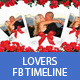 Lovers Facebook Timeline Cover PSD Template - GraphicRiver Item for Sale