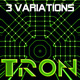TRON patterns in HD (3 variations) - VideoHive Item for Sale