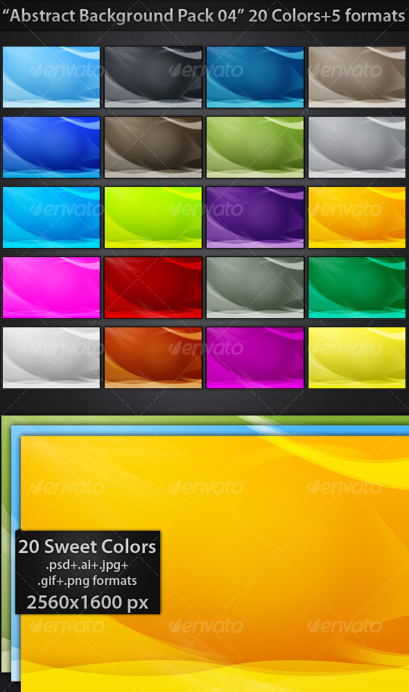 GraphicRiver Abstract Backgrounds Pack 04 72072