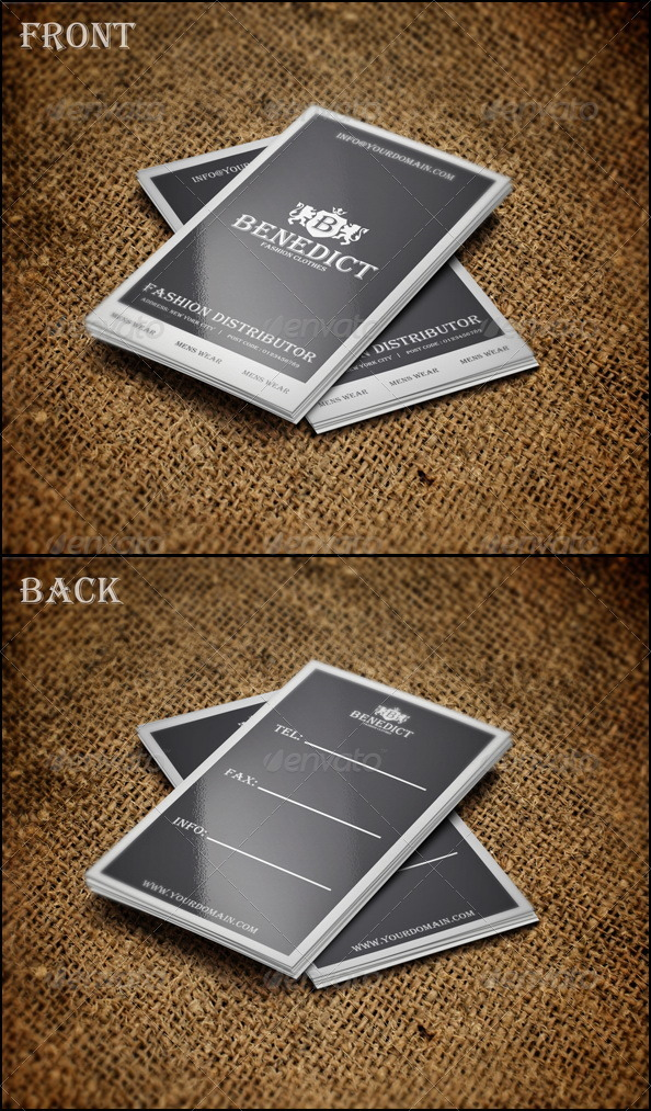 GraphicRiver Benedict Card 2182679