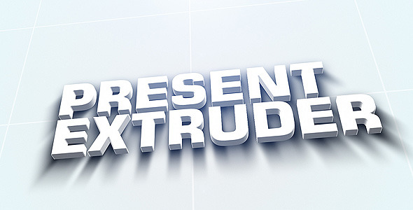 After Effects Project - VideoHive Extruder 247286