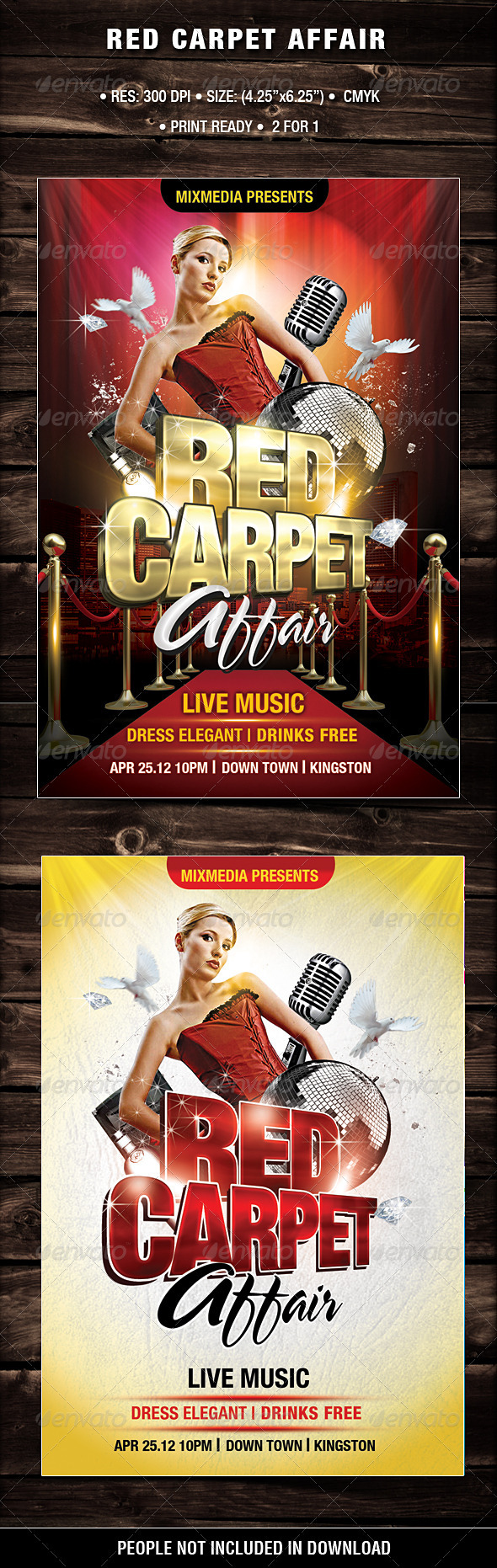 GraphicRiver Red Carpet Affair 2183448