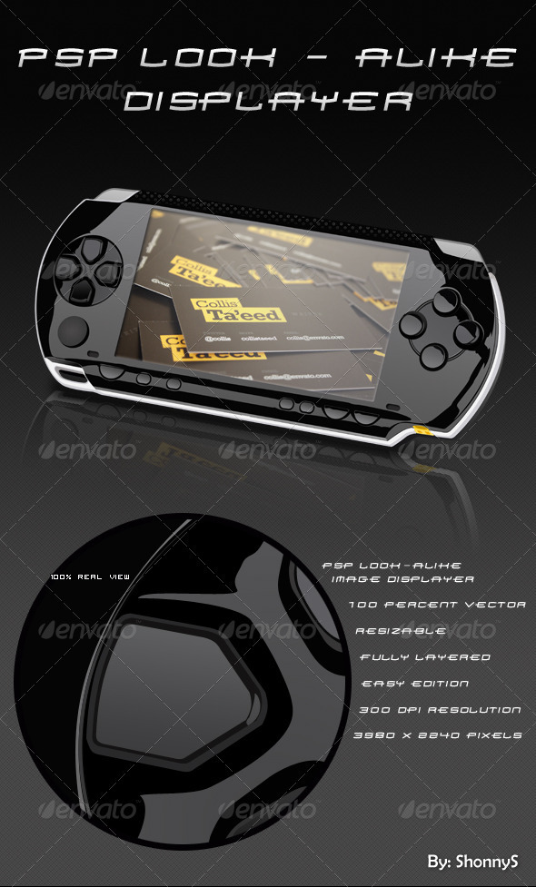 Portable Gaming Device - Mobile Displays