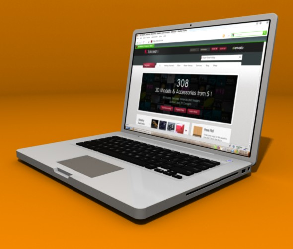 3DOcean Laptop Computer 81970