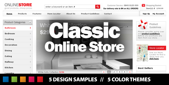 Classic Online Store