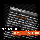 RESIZABLE XML WINDOW v1.0 - ActiveDen Item for Sale