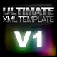 ULTIMATE XML TEMPLATE V1 - ActiveDen Item for Sale