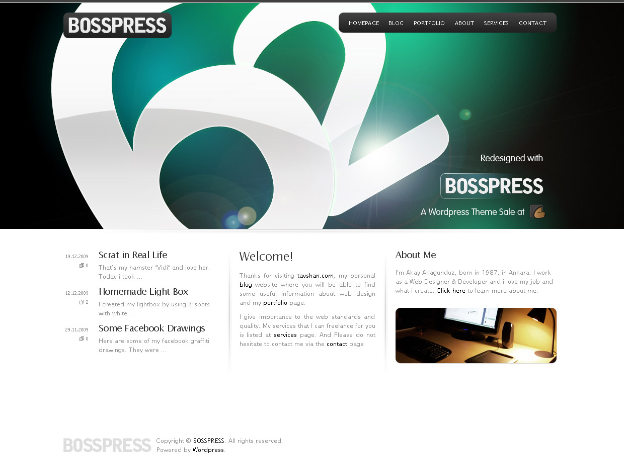 BOSSPRESS - Site Template