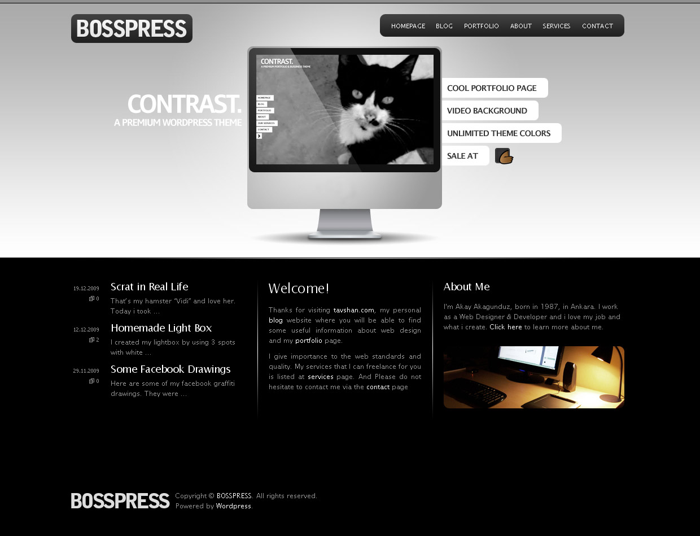 BOSSPRESS - Site Template