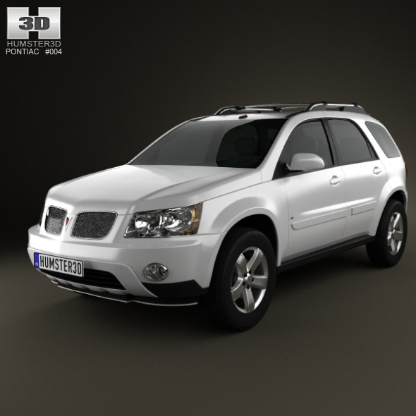 3DOcean Pontiac Torrent 2006 3D Models -  Vehicles  Land  Cars 2188338