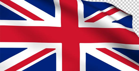 VideoHive UK Flag 2188685
