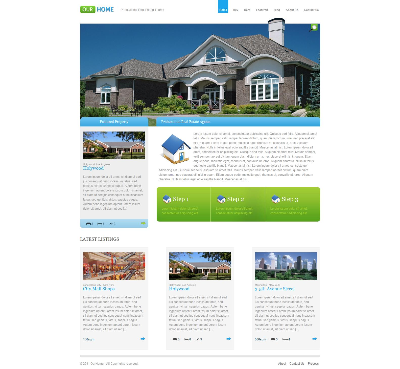 WP Real Estate Themes