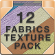 12 Handmade Repeating Fabric Texture Patterns - GraphicRiver Item for Sale