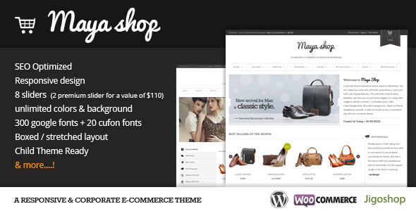 Top 50 WooCommerce Themes of 2016