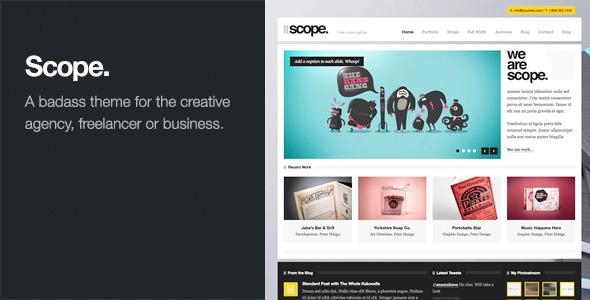 Scope: Agency / Business WordPress Theme