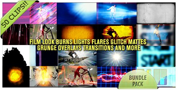 After Effects Project - VideoHive Film Looks Glitch Burns Trans And More Bu ...