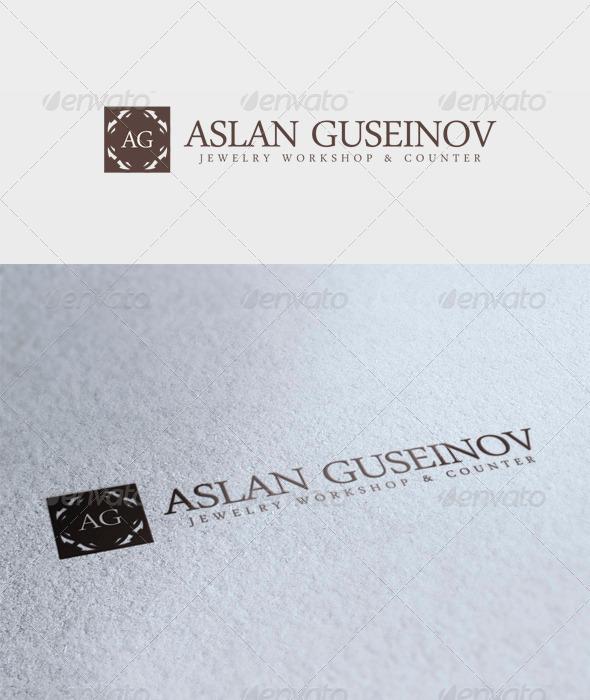 Aslan Guseinov Logo - Letters Logo Templates