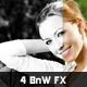 4 Black and White Photo Effects - GraphicRiver Item for Sale