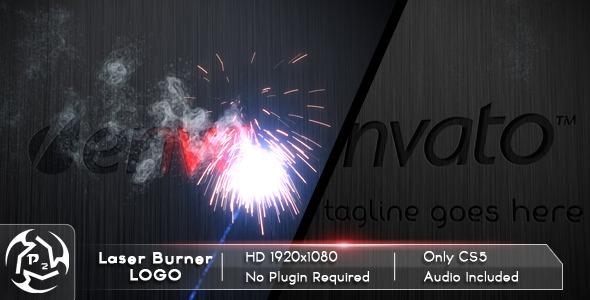 VideoHive Laser Burner Logo 2192545