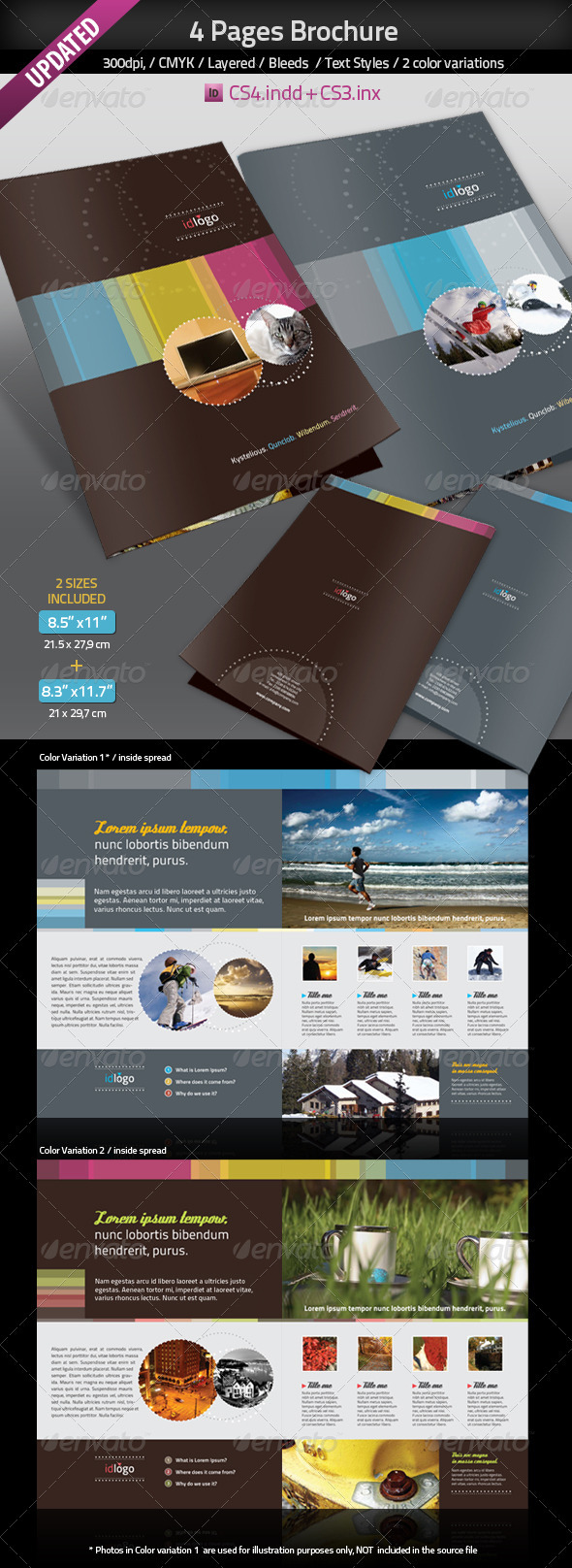 4pages A4 Brochure - Corporate Brochures
