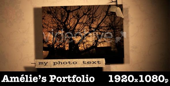 VideoHive Amelie's Portfolio 2193937