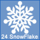 24 Snowflake - GraphicRiver Item for Sale