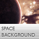 Evening Space Background & Wallpaper - GraphicRiver Item for Sale