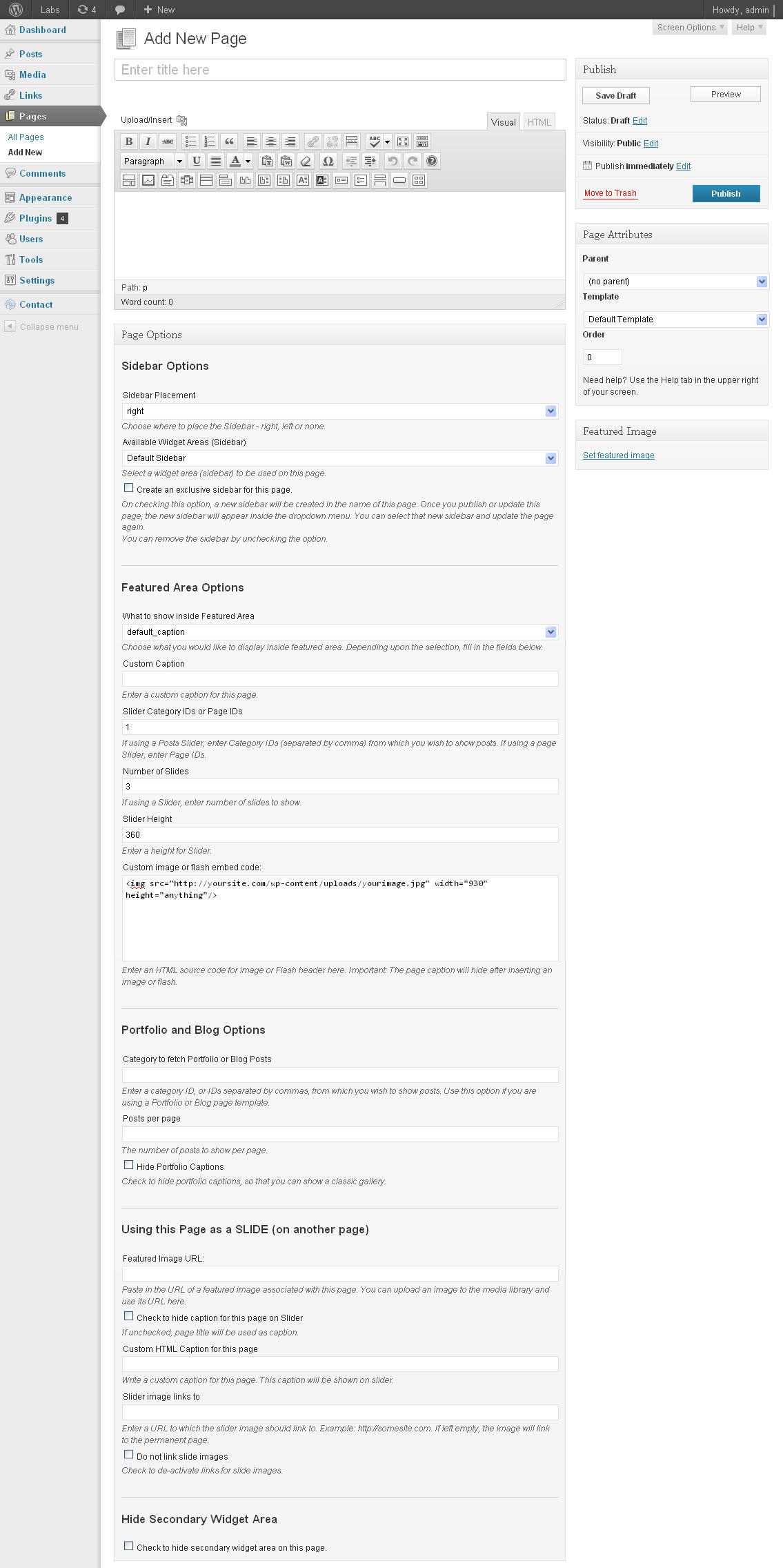 Indus - Corporate Business WordPress Theme