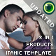 Extendable Itanic Website Template - ActiveDen Item for Sale
