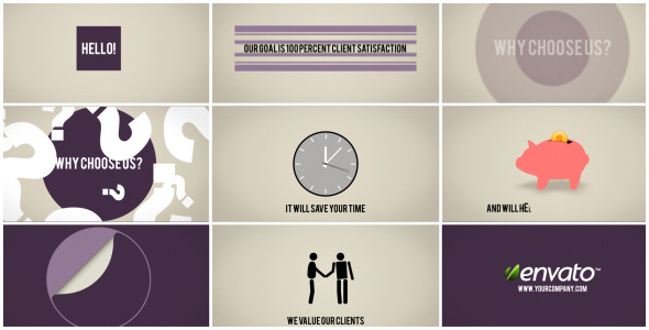After Effects Project - VideoHive About your company 2194329