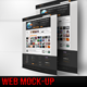 3D Room WEB Mock-Up - GraphicRiver Item for Sale