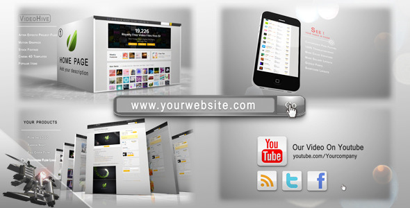 After Effects Project - VideoHive Your Website Pack 2162517