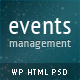 PressEvent - Event Management Theme - ThemeForest Item for Sale