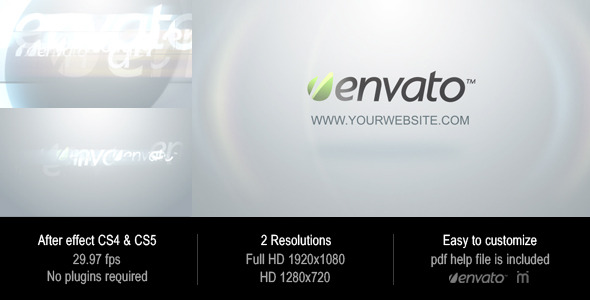 After Effects Project - VideoHive Clean Elegance Logo 2196376