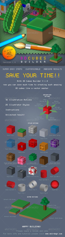GraphicRiver 3D Cubes Builder 2197029