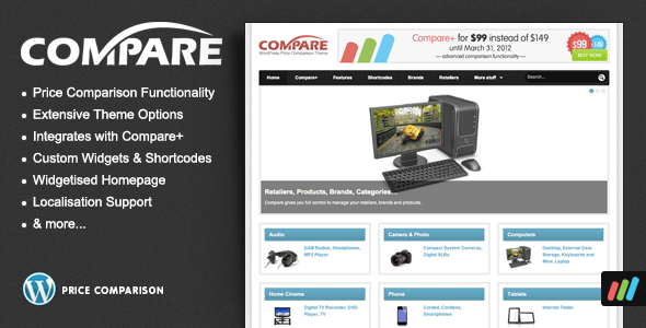 Compare WordPress Theme