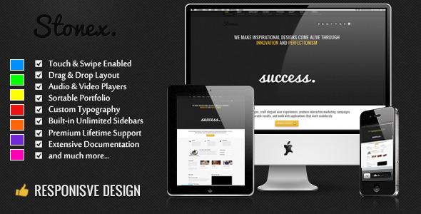 Stonex - Business Responsive WordPress Themed