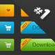 Premium buttons #1 - GraphicRiver Item for Sale