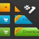 Premium buttons #1 - GraphicRiver Item for Sale