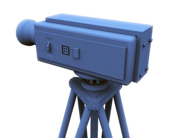 3DOcean Camera & Tripod 75022